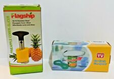 One Touch Can Opener Grip Jar Opener Flagship Pineapple Corer Slicer Lot Bundle