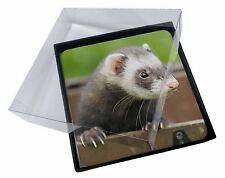 Ferret Print Large Pink Shopping Bag Christmas Present Idea FER-2BLP