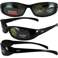 MF Bad Attitude Black Frame Super Dark Lens Sunglasses