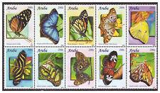 Aruba 2010 Vlinder butterfly butterflies papillon schmetterling MNH