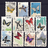 CHINA - 1963 BUTTERFLIES SELECTION OF USED STAMPS (2 SCANS) HCV