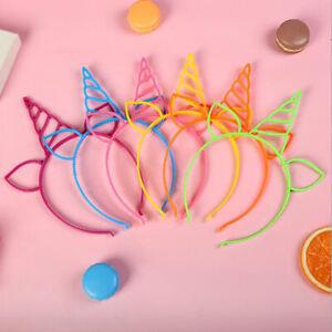 Girls's Headbands Princess With Plastic Animal hair Hoop Horn headwear girlB^DB