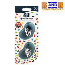 Jelly Belly Duo Vent Two Pack BLUEBERRY 3D Car Air Freshener A1535