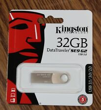 Kingston Digital 32GB DataTraveler SE9 G2 USB 3.0 3.1 Flash Drive DTSE9G2/32GB