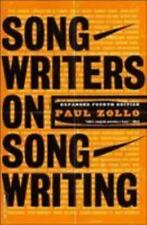 Songwriters on Songwriting by Paul Zollo Paperback Book (English)