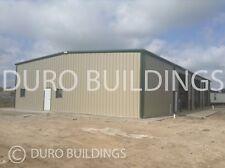 DuroBeam Steel 30x60x18 Metal I-Beam Rigid Frame Garage Workshop Building DiRect