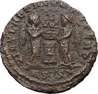 Constantine II Jr Constantine I son 319AD Ancient  Roman Coin i30876 Victories
