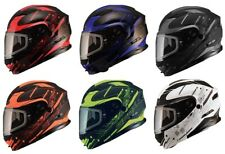 GMAX Adult MD-01 Wired Snow Modular Snowmobile Helmet All Colors XS-3XL