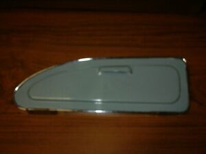 MORRIS MINOR 1000 FLUSH GLOVE BOX DOOR LID WITH CHROME TRIM PASSENGER LEFT SIDE