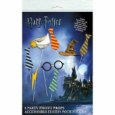 New Unique Party 8 Pack Harry Potter Photo Props Booth Party Game