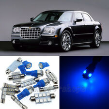 Bright Blue 5pcs Interior LED Light Package Kit for Chrysler 300/300C 2005-2010