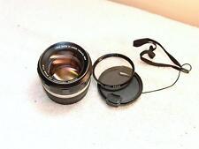 Konica Hexanon AR 57mm F/1.4 Camera Lens+ Filter 1:1.4