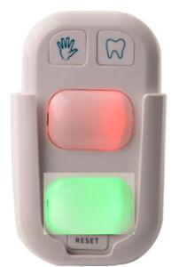 Kinder Händewaschen Zähneputzen Timer Uhr Assistent Zahnputzuhr 2 LED-Leuchten