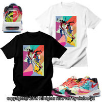 CUSTOM T SHIRT MATCHING STYLE OF atmos x Nike Air Max2 Light AM2 1-1-1