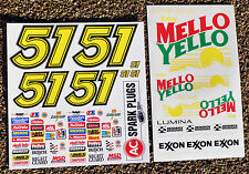 RC NASCAR' Days of FULMINI' ADESIVI DECAL TAMIYA XRAY TC5 S18 Serpent Kyosho