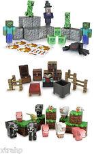 Set Of 3 Minecraft Papercraft Hostile Mobs, Utility Pack, Animal Mobs,Zombie,Pig