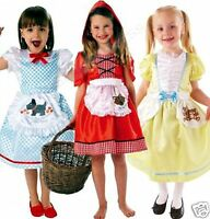 Girls Fairy Tale Story World Book Day Outfit Fancy Dress Costume 3-8 years
