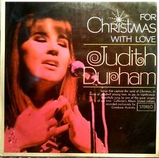 JUDITH DURHAM LP FOR CHRISTMAS WITH LOVE LIMITED EDITION
