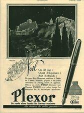 Publicité ancienne stylo plume PLEXOR 1941  S. L. G.issue de magazine