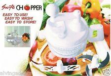 Hand Crank Multi-Function Vegetable Fruit Cutting Swift Chopper