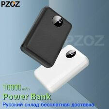 Power Bank 10000mAh Dual USB Phone External Battery Fast Charge Portable Charger