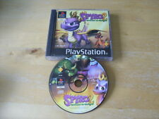 PLAYSTATION ONE GAME / PS1 - SPYRO 2 - GATEWAY TO GLIMMER - NO MANUAL