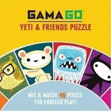 Gamago Yeti and Friends Puzzle by Gamago (2013, Novelty Book)
