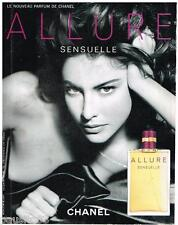 PUBLICITE ADVERTISING 105  2006  CHANEL    parfum ALLURE SENSUELLE