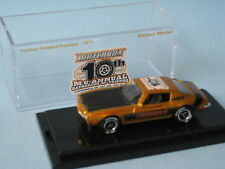 Matchbox 1971 Pontiac Firebird 2012 MC Gathering USA No Bonnet Logo