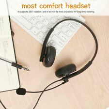 For PC PS4 Xbox One Office 3.5mm Headsets Headphones Stereo Bass Surround W Mic