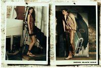 Publicité Advertising 049  2011  pret à porter cuir Diesel Black Gold (2pages)