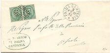 P5928   Napoli, PALMA CAMPANIA, numerale asbarre 1884