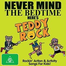 TEDDY ROCK Never Mind The Bedtime Here's Teddy Rock CD/DVD R4 NEW ABC FOR KIDS