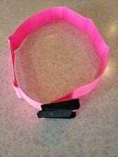 "Scuba Weight Belt With Buckle ~ Ladies Pink Belt 2"" Length 41"""