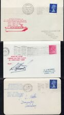 Great Britain, 1972. Covers Inauguration/Forces Hovercraft Flights, (9)