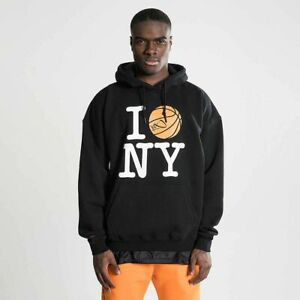 K1X I Ball NY Hoody Men's Black Activewear Casual Sportswear Sweatshirt Hoodie