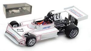 Spark S5366 March 731 #27 'Hesketh' Monaco GP 1973 - James Hunt 1/43 Scale