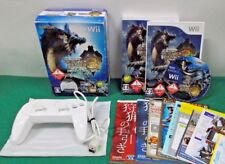 Nintendo Wii - Monster Hunter Tri - Classic Controller Pro White - *JAPAN* 53998