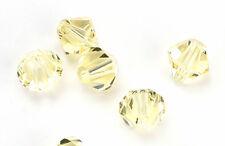 25 Swarovski Crystal Beads # 5328 Jonquil 6MM