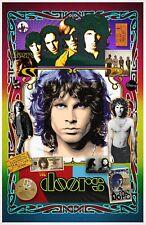 """Jim Morrison Tribute Poster - 11x17"""" Vivid Colors"""