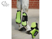 Busse Tendon & Fetlock Boots Horse Shock Absorb Protection Set *4 All Colours
