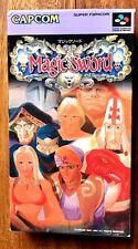 MAGIC SWORD SUPER FAMICOM NINTENDO SFC SNES JAPAN (NTSC-J) GREAT CONDITIONS