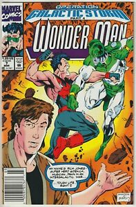 Wonder Man #7 Newsstand Edition NM- 9.2 Operation Galactic Storm, Captain Marvel