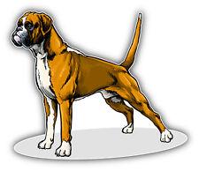 Boxer Breed Dog Car Bumper Sticker Decal 5'' x 4''