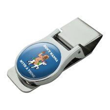 Don't Wanna Myth Thing Unicorn Bigfoot Chrome Metal Money Clip