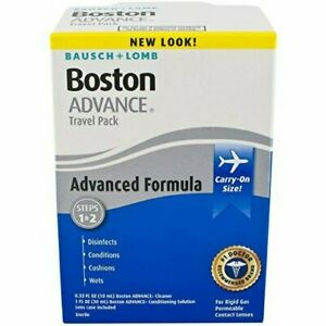 Bausch & Lomb Boston Advance Cleaner Comfort Formula Travel Pack, 1ct, 8 Pack