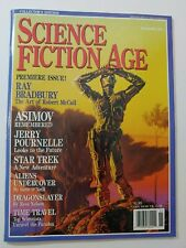 Science Fiction Age Magazine Nov 1992 Ray Bradbury Star Trek Alien Sci-Fi Dr Who