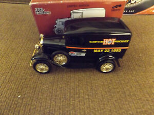 One Hot Night Charlotte Racing Champions Liberty Bank 1/25 Diecast Delivery Van
