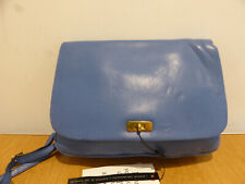 J. Crew Sophie Cross body bag in blue leather VGC smart casual shoulder