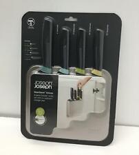 Joseph Joseph DoorStore Knives Elevate Set w/Block Wall/Cabinet Door Mount 5-pcs
